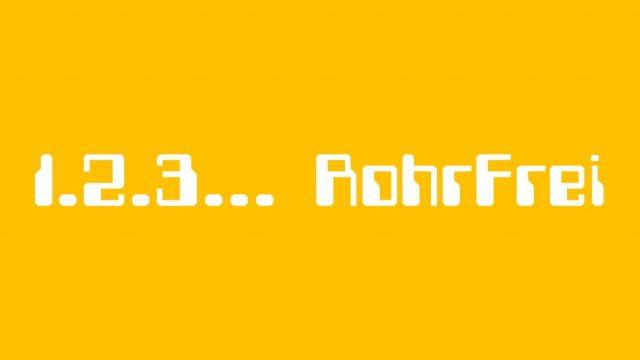 1.2.3… RohrFrei