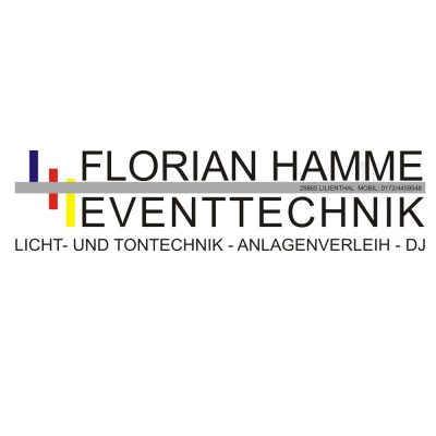 Florian Hamme Eventtechnik Lilienthal und Bremen
