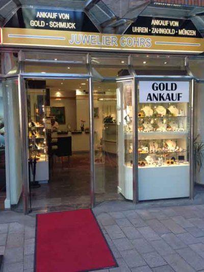 Juwelier Cohrs Goldankauf Bremen