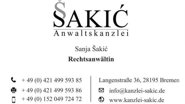 Anwaltskanzlei Sakic Bremen