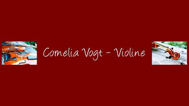 Violinunterricht Bremen | Cornelia Vogt
