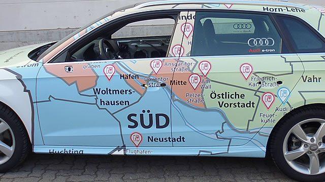 Car Wrapping Bremen | All Werbung