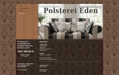 Polsterei Eden Bremen